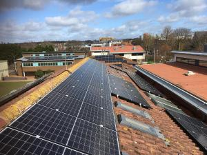 brunswick primary school solar panels
