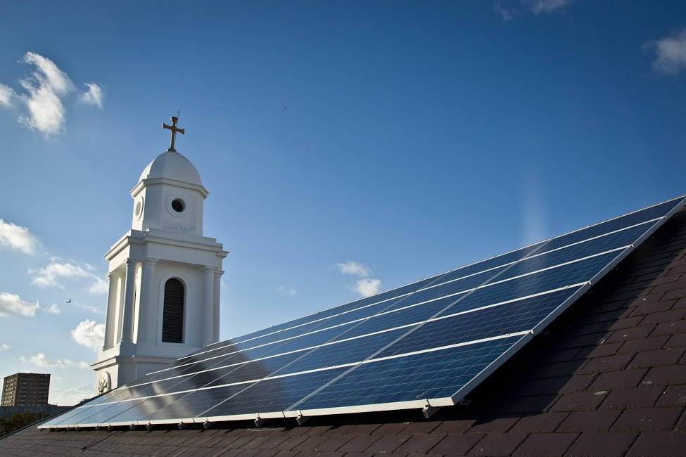 energy costs - church buildings - st georges church - brighton - sussex