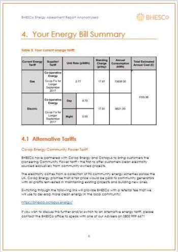 BHESCo Energy Survey 3