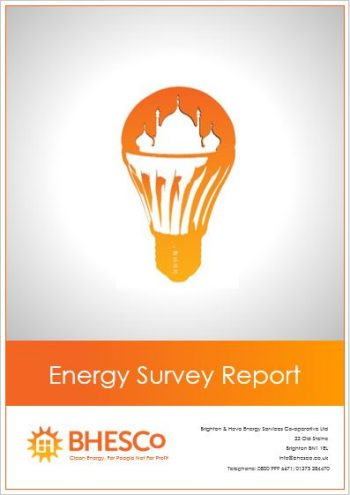 BHESCo Energy Survey Cover