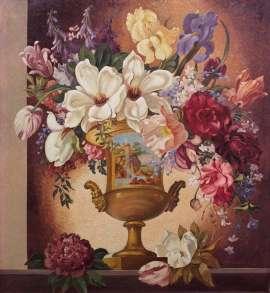 Lot 205 - Adrian Feint, The Golden Urn, 1942, est. $10,000-15,000. My urn runneth over