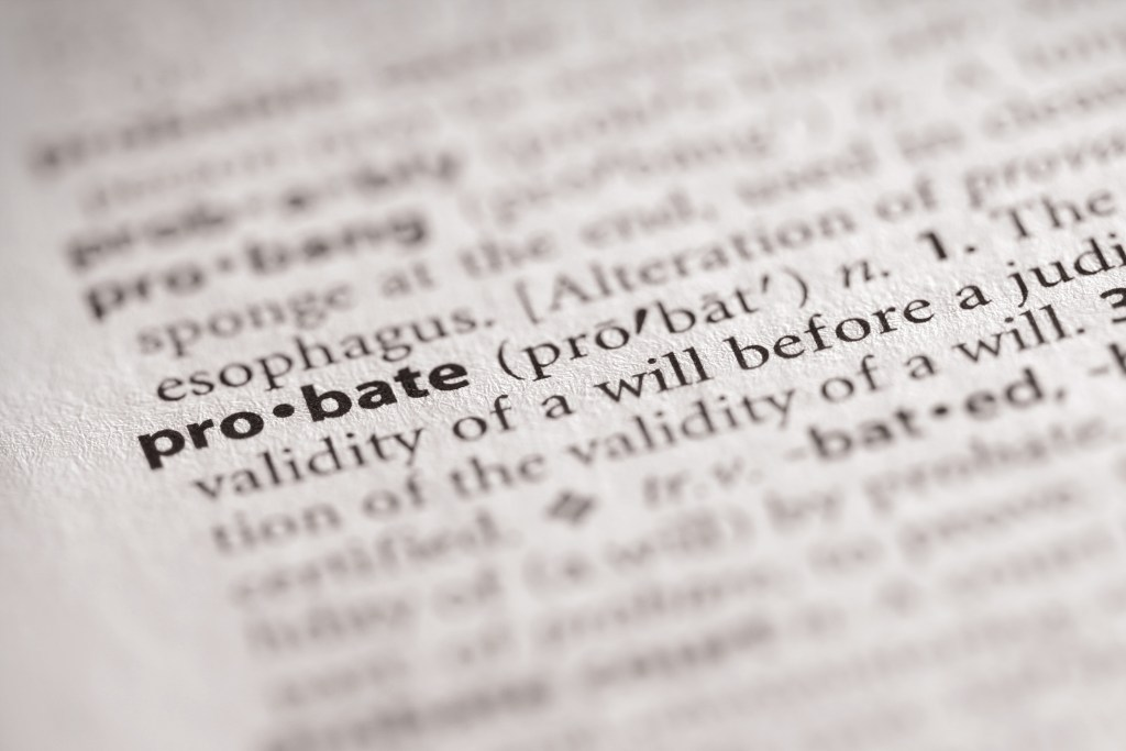 probate definition