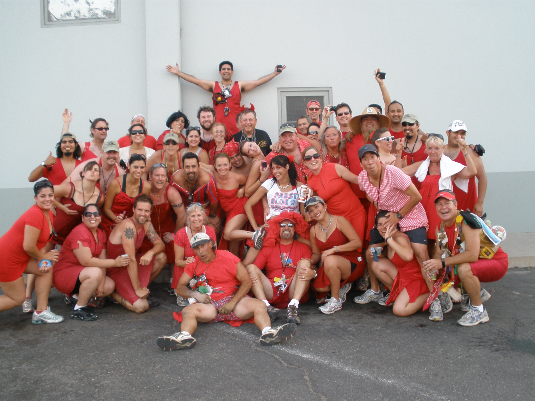 BH3 Red Dress 2009