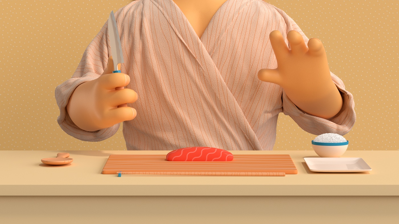 How to make Sushi by Jonathan Lindgren