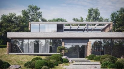 ÉTÉ HOUSE by Sergey Makhno Architects