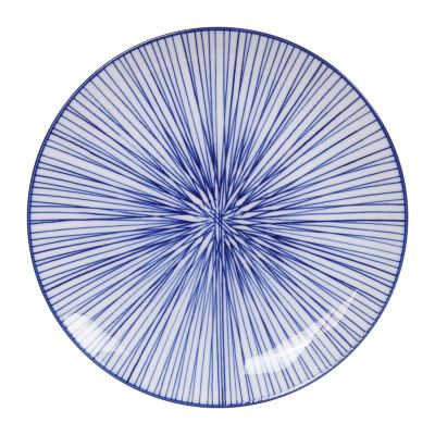 nippon-blue-dessert-plate-lines-02-amara