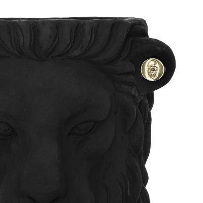 terracotta-lion-plant-pot-small-black-04-amara