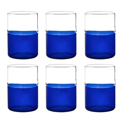 mezzo-pieno-tumbler-set-of-6-blue