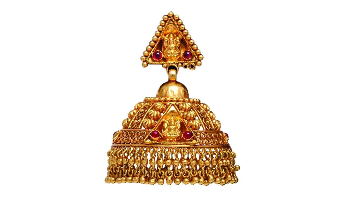 Antique Earring Bhima Jewellers