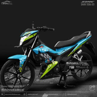DECAL STICKER HONDA SONIC DESAIN TOSKA SHARK-013