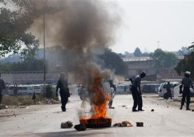 Police and Vendors Clashes Rises Tajamuka