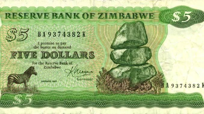 RBZ Disassociates Itself From the Defunct Zimbabwe Dollar Trade