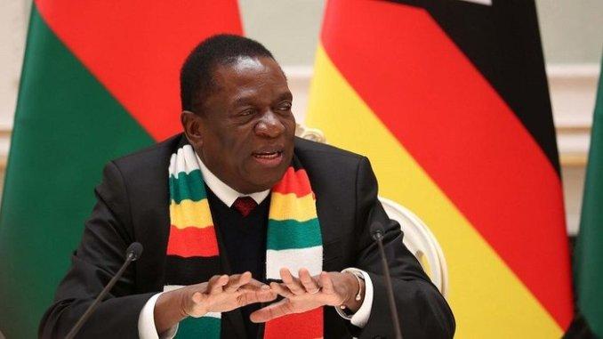 Zimbabwe President Calls for A National Dialogue