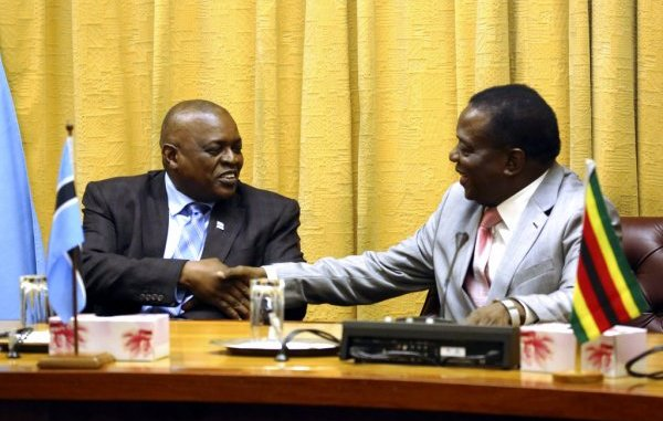 The Governmentof Botswana, yesterday denied media reports of offering a loan to its eastern neighbour,Zimbabwe and said it is rather holding discussions under the framework of the Bi-National Commission.