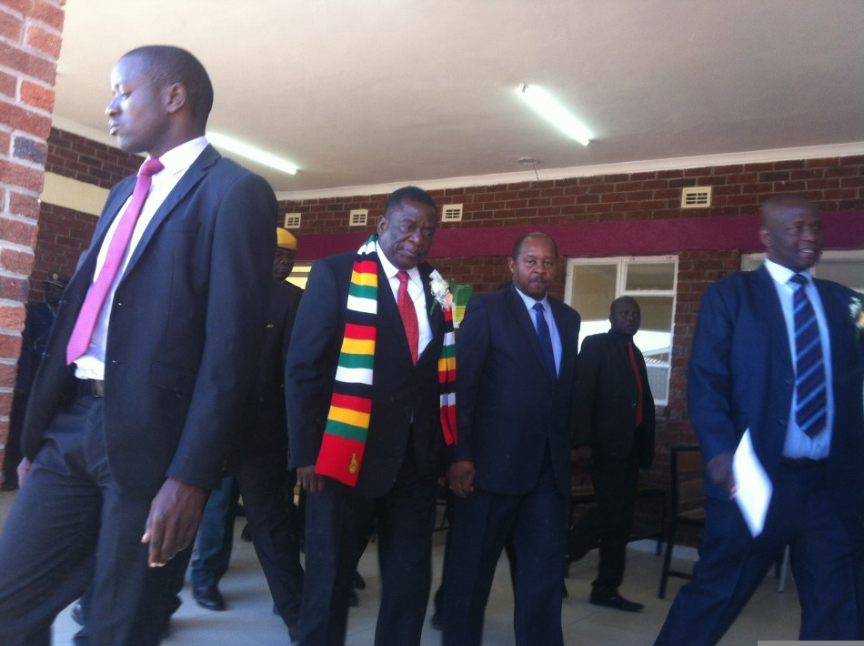 Zimbabwe President Officially Opens the Youth Built Tariro Centre