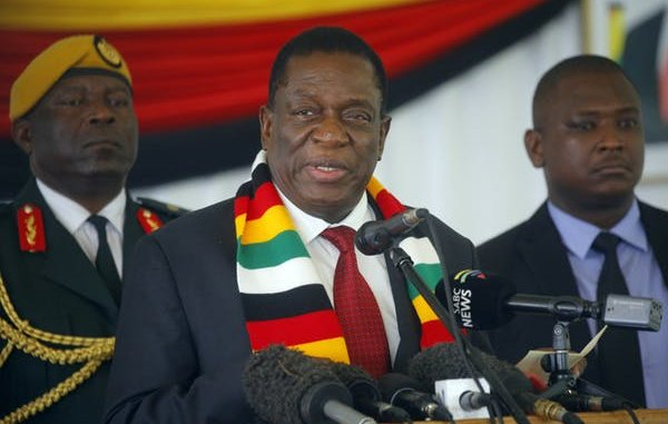President Emmerson Mnangagwa Looks Beyond the COVID-19 Pandemic