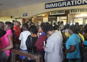 Fake Immigration Officers Processing Visas To Foreigners Amid COVID-19 Lockdown