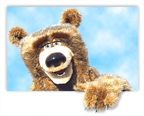 Bear with Sky