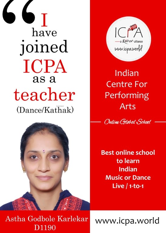 Kathak Dance Teacher