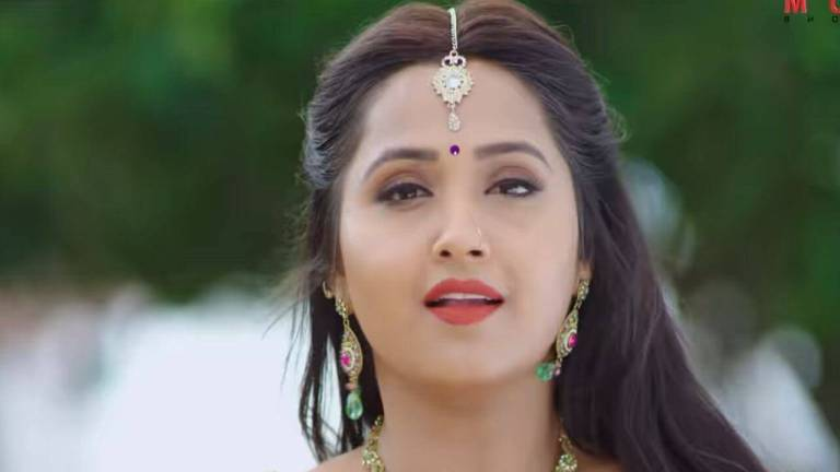 [Watch Video] Romantic Bhojpuri Song Ritesh Pandey Aur Kajal Raghwani Ka