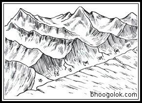 কর্তিত শৈলশিরা (Truncated Spur)
