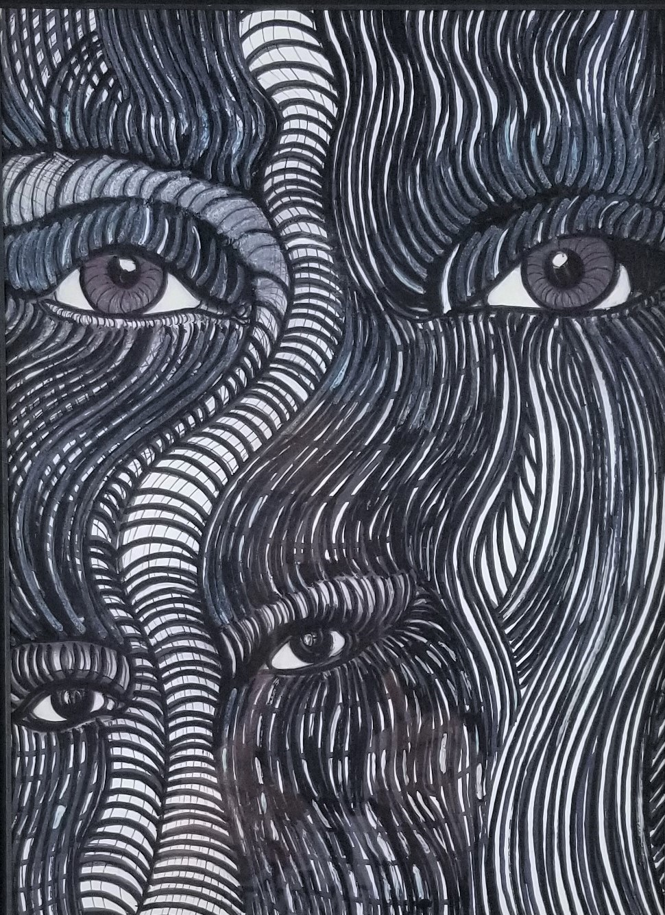 """""""Watching over Me""""; (DETAIL)"""