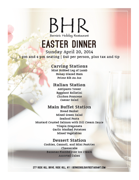 bhr easter