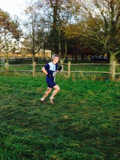 Mark Collins at Plumpton Cross Country 2014
