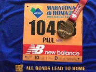 Paul Russell at the Rome Marathon 2016