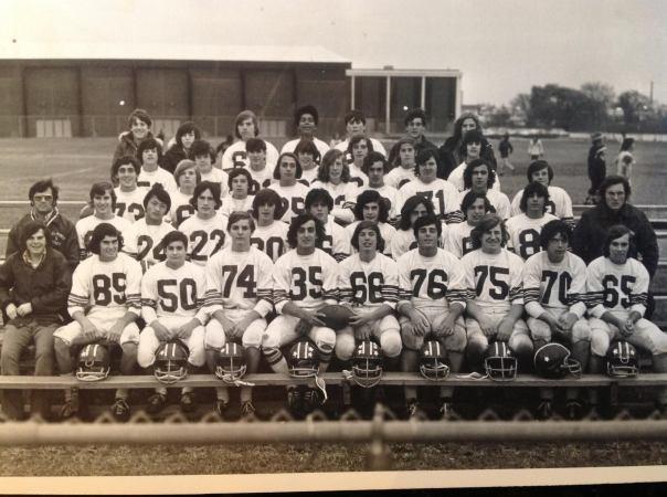 BHS 1977 Freshman Football Team