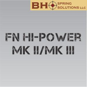 FN Hi-Power MKII/MKIII