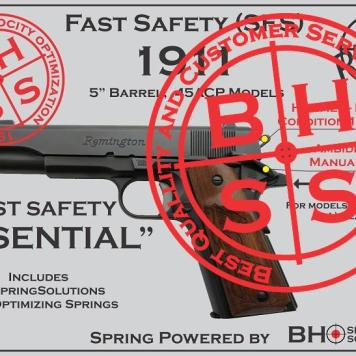 "Complete Spring Optimization for 5"" 1911s"
