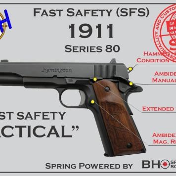 Tactical Fast Safety (SFS V2.0) for 1911s Series 80
