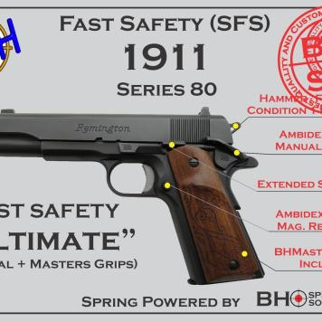 Ultimate Fast Safety (SFS V2.0) for 1911s Series 70