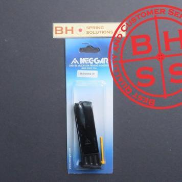 Hi-Power 9mm, 10 rounds, Blued Magazine
