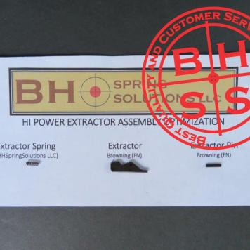 Browning Hi-Power Extractor with Extractor Spring and Extractor Pin