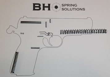 FM95 Detective spring kit