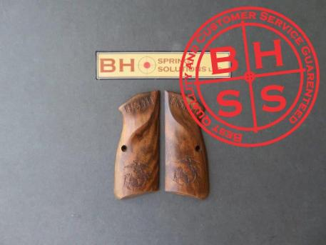 HiPowerMaster's Grips USMC TRIBUTE  Available for immediate shipping  USMC_108