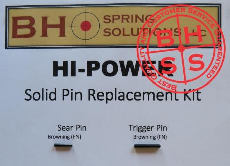 HiPower 9mm Solid Pin Replacement Kit