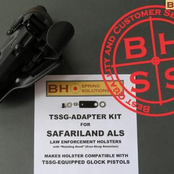 Safariland ALS Holster Retrofit Kit for Glocks equipped with Tactical Safety System for Glock Pistol