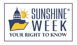 Sunshine Week is a national, non-partisan initiative to increase awareness around public records laws and open government.