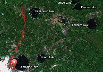 The 10K route of Milo Marathon Eliminations San Pablo