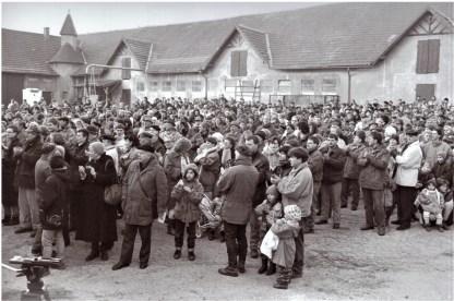 Sternmarsch zur Alt Marienburg 1992