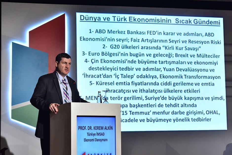 Türkiye İMSAD Ekonomi Danışmanı Prof. Dr. Kerem Alkin