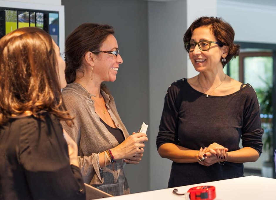(soldan sağa) Aylin Ayna, Ayşegül Kuruç, Nilüfer Kozikoğlu