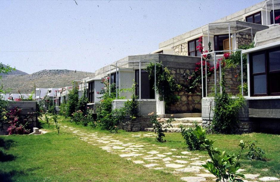 Datça Dinlence Köyü, Muğla, 1984 Bektaş Özyönetim Mimarlık İşliği SALT Araştırma, Cengiz Bektaş Arşivi