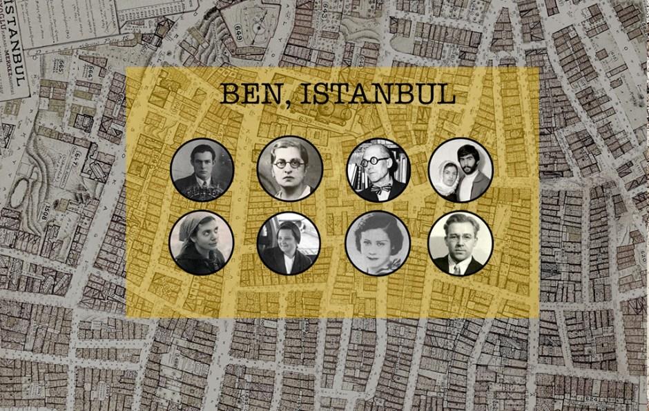 """""""Ben, İstanbul"""" platformunun arayüzünden bir kesit Nil Tuzcu, """"Ben, İstanbul"""""""