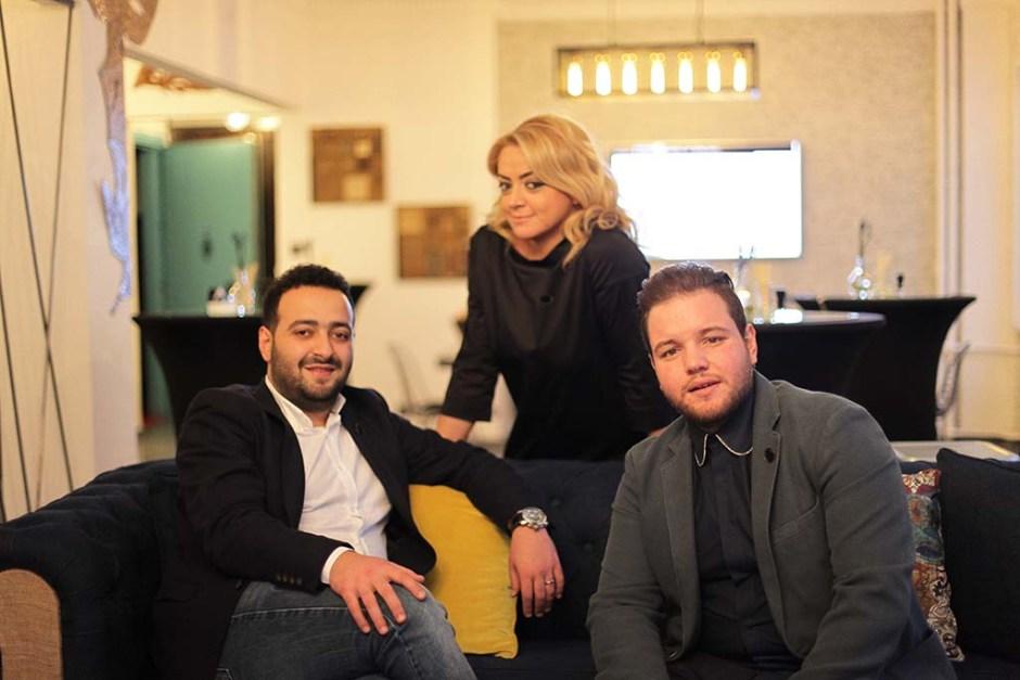 Müzeyyen Gürbaz, Orhan Madenoğlu ve Mehmet Gürba