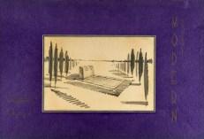 Nazimî Yaver Yenal'ın bir mezar tasarımı (Büke Uras Arşivi)
