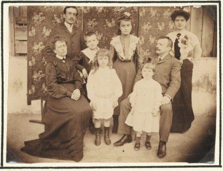 Köpe ailesi, Selanik, 1903 Antoine Köpe Arşivi Elizabeth Childress izniyle